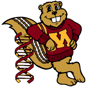 goldy leaning on DNA